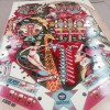 GTB Circus Playfield ( NOS ) in for clearcoat and then a new home in a rebuilt machine.