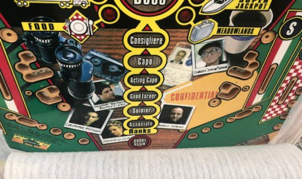 Sopranos playfield BRAND NEW $770
