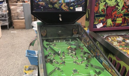 Capcom Flipper Football