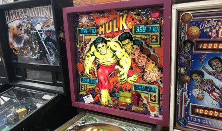 The Hulk Pinball Machine SOLD