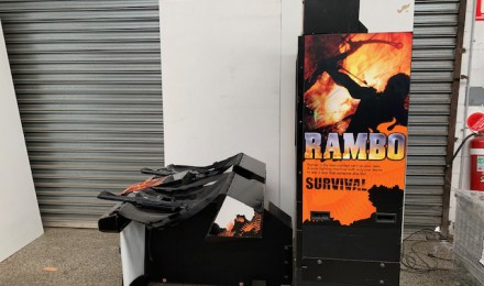 Rambo Gun Game Sold