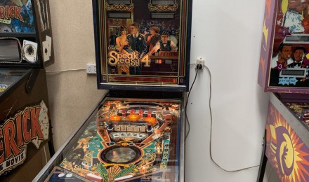 Speak Easy Pinball machine sold