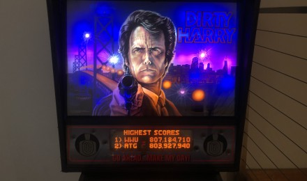 Dirty Harry Pinball machine $6995