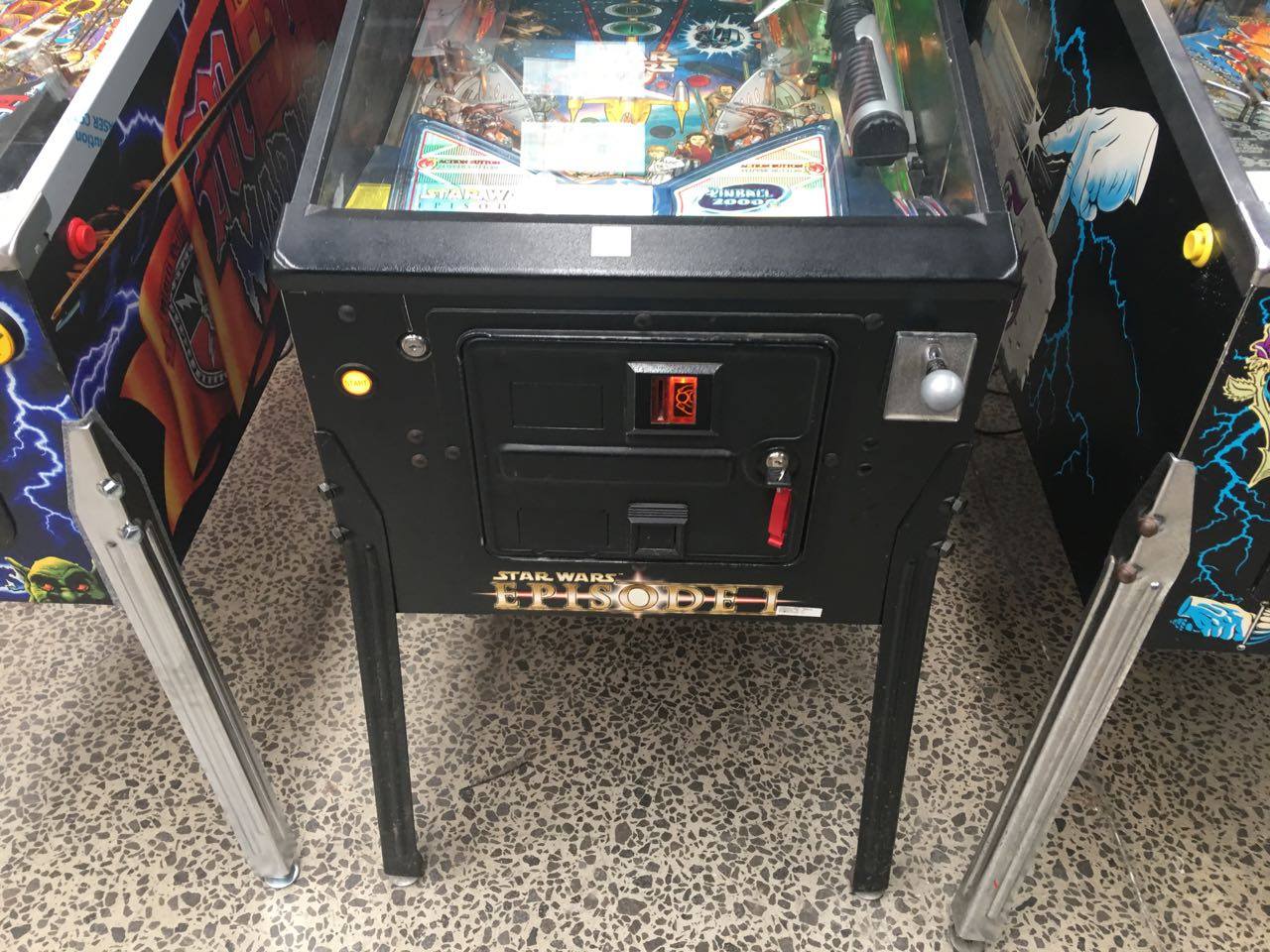 star wars pinball machine for sale australia
