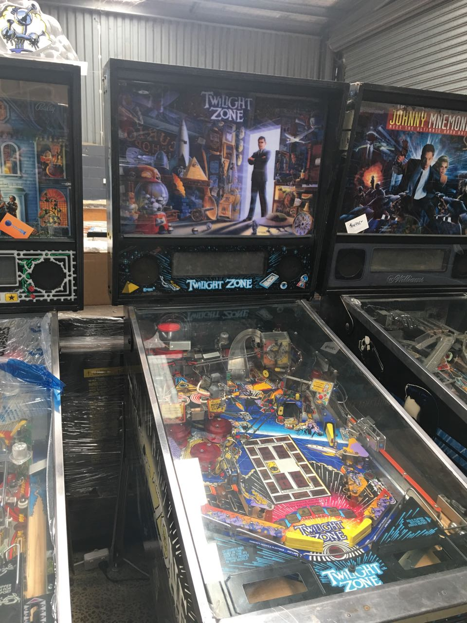 twilight zone pinball machine for sale